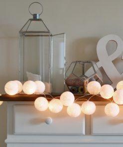 Bavlnené lampy