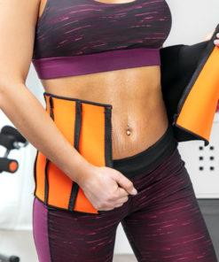 Športový pás na chudnutie so sauna efektom