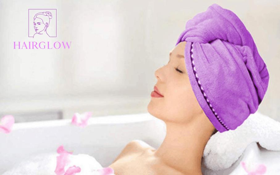 HAIRGLOW® Rýchloschnúca uteráková čiapka na vlasy
