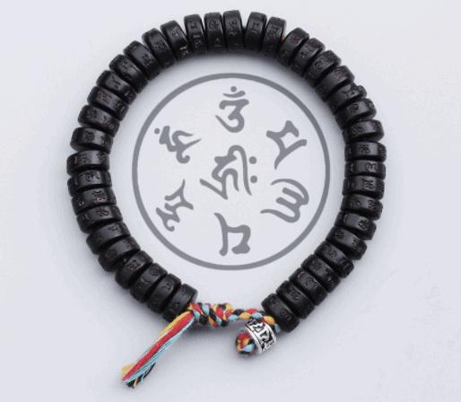 Tibetský budhistický náramok