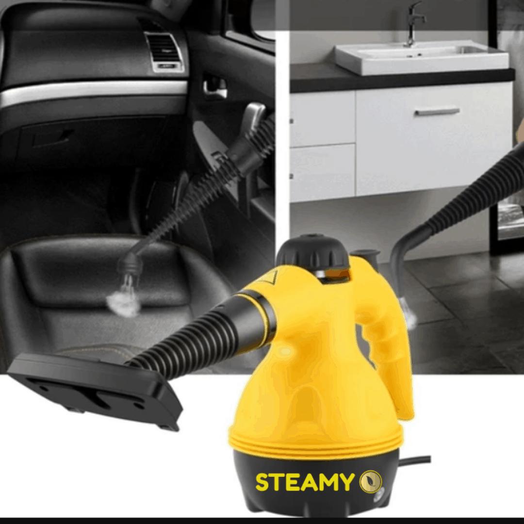 STEAMY® Tlakový parný čistič všetko v jednom s exkluzívnym 9 dielnym príslušenstvom